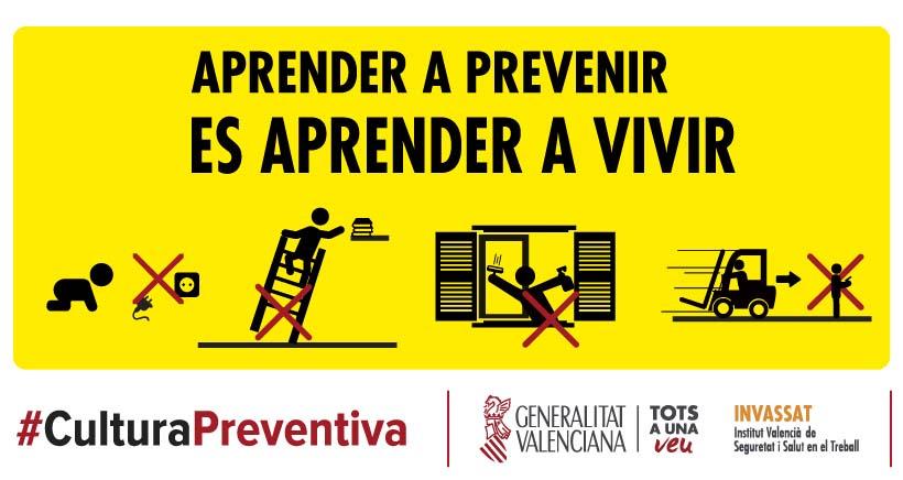 La Generalitat Valenciana abre un campus virtual gratuito para formar en prevención de riesgos laborales