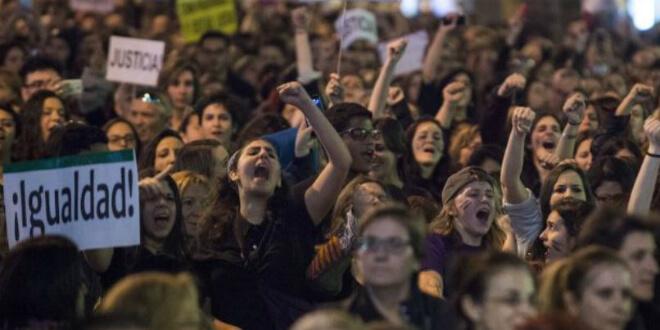 huelga femenina