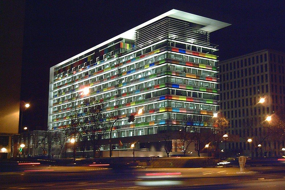 Edificio sede del INE (Madrid)
